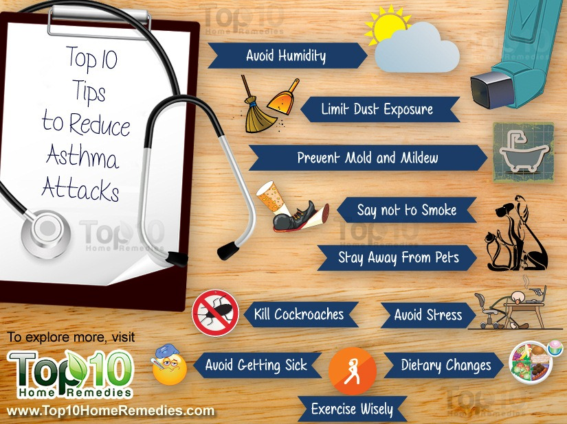 10 Mẹo để giảm hen suyễn tấn công