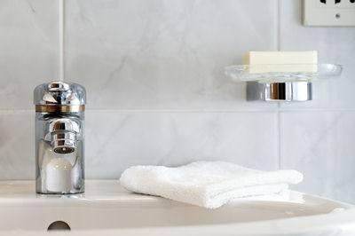 use a clean washcloth