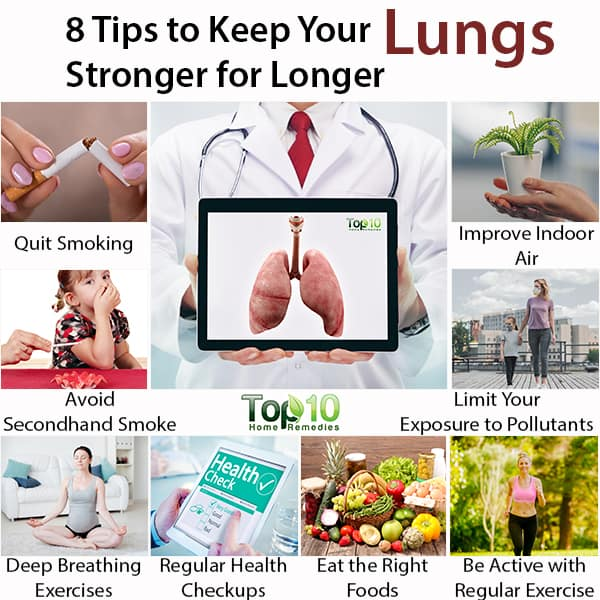 tips to keep your lungs stronger for longer