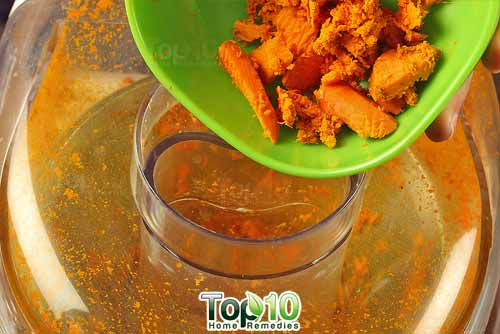 DIY turmeric juice step3