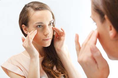 Mimic wrinkles ,signs of skin aging-opt