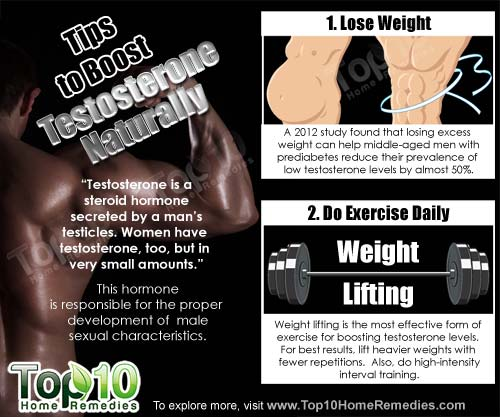 tips to boost testosterone