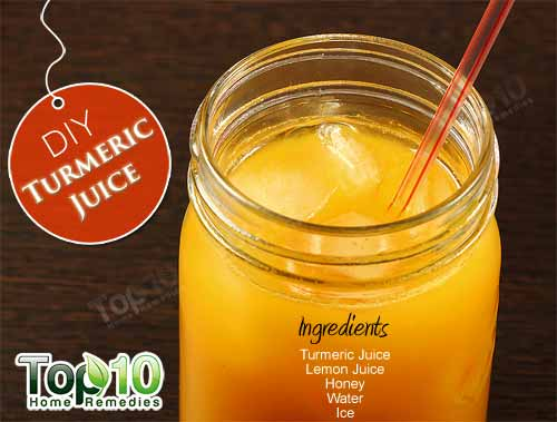 turmeric juice DIY