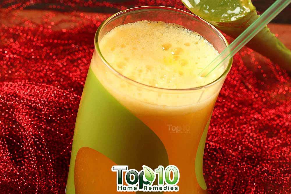Diy Aloe Vera Juice Amp Smoothie Top 10 Home Remedies