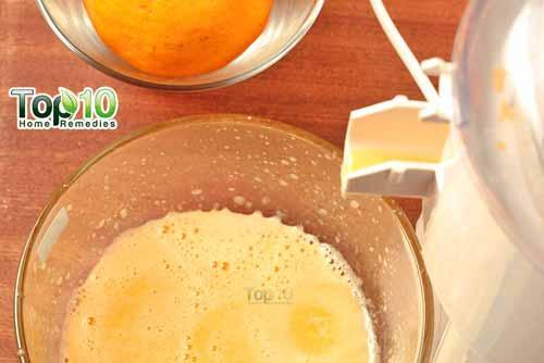 DIY aloe vera juice step 4