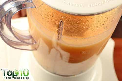 DIY aloe vera juice step 7