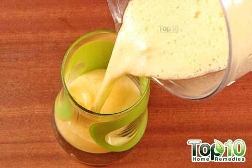 DIY aloe vera juice step 8