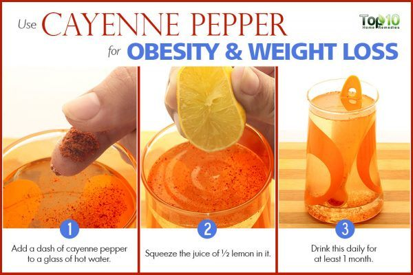 cayenne pepper for obesity and weight loss