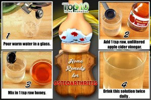 home remedy for osteoarthritis