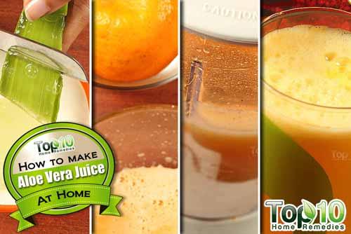 aloe vera juice ingredients