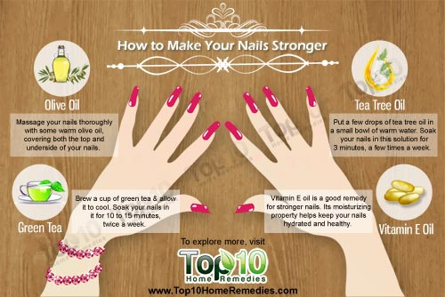 How to Make Nails Stronger Naturally