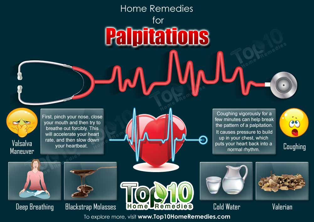 Natural Home Remedies For Palpitations