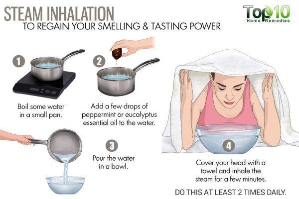 do steam inhalation
