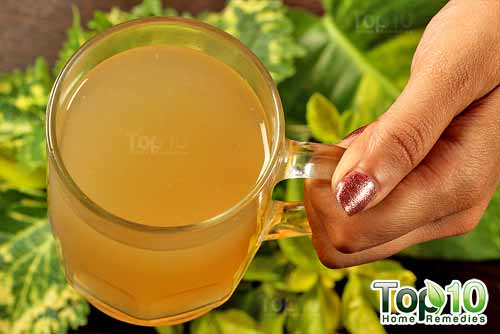 DIY ginger tea final