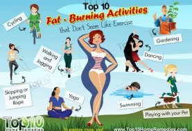 Top 10 Fat-Burning Activities that Don't Seem Like Exercise