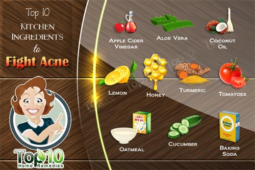 fight acne with kitchen ingredients