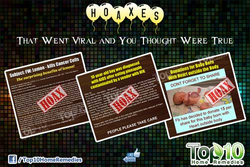 hoaxes that went viral