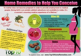 Home Remedies to Help You Conceive