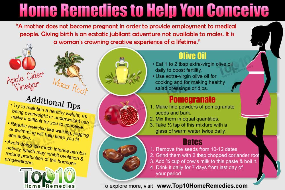 Home Remedies To Help You Conceive Top 10 Home Remedies