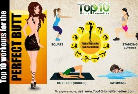 Top 10 Workouts for the Perfect Butt