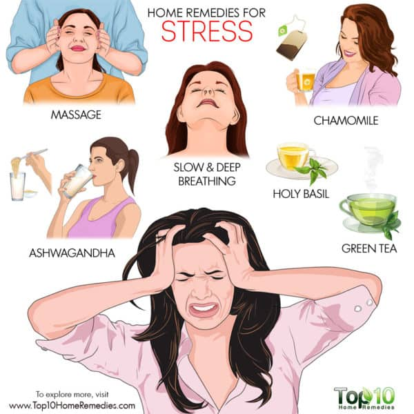 best home remedies for stress
