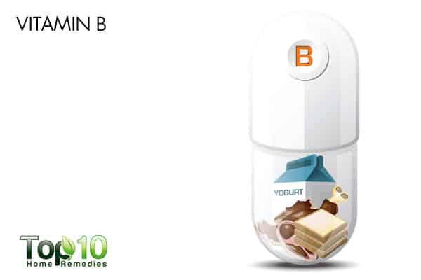 vitamin B to reduce stress