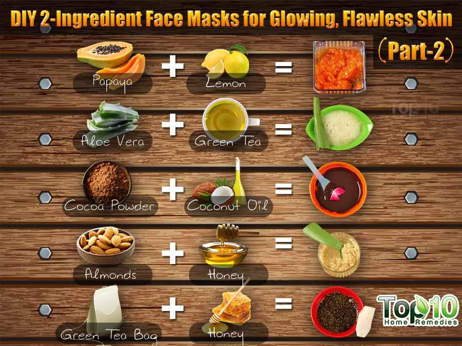 DIY 2-Ingredient Face Masks for Glowing, Flawless Skin ...