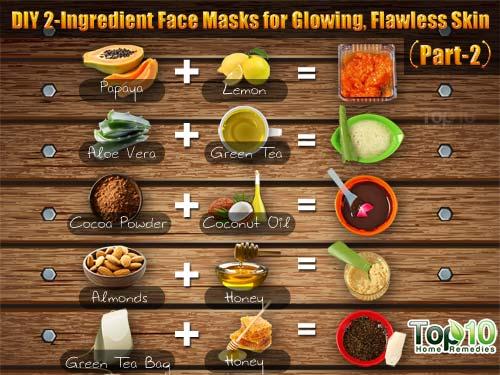 Diy 2 Ingredient Face Masks For Glowing Flawless Skin