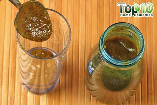 DIY raw mango drink step11