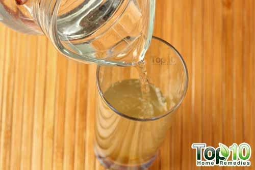 DIY raw mango drink step12