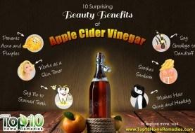 10 Surprising Beauty Benefits of Apple Cider Vinegar