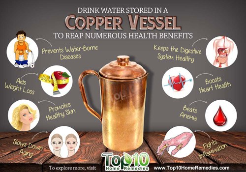 Drink Water Stored In A Copper Vessel To Reap Numerous