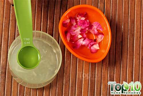 cucumber anti tan mask rose water