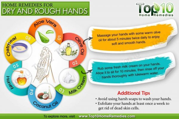Home Remedies For Dry And Rough Hands Top 10 Home Remedies