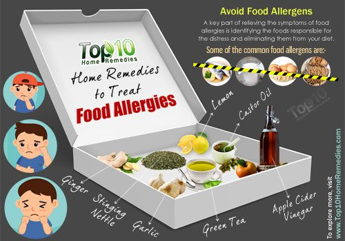 home remedies to treat food allergies
