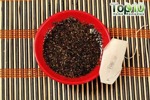 how to make homemade green tea bags