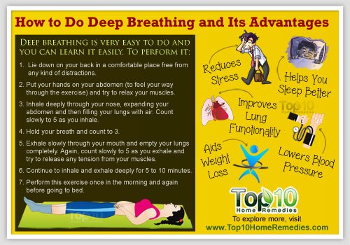 how to do deep breathing
