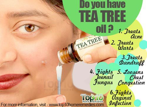 tea tree oil health benefits