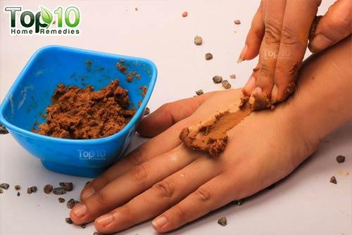 DIY chickpea flour ubtan
