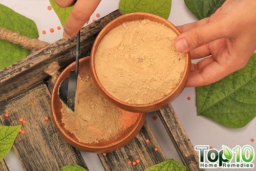 SIY red lentils mask step3