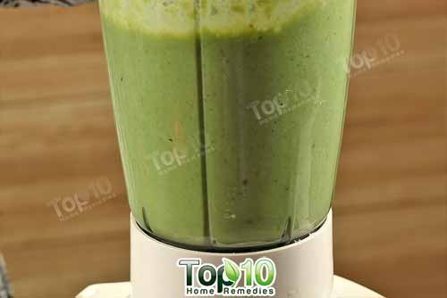 DIY weight loss smoothie step10