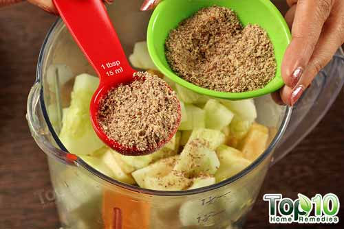 DIY weight loss smoothie step6