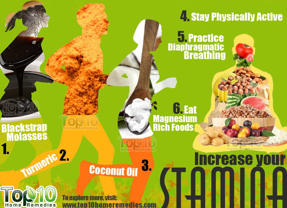 Food to increase stamina for exercise