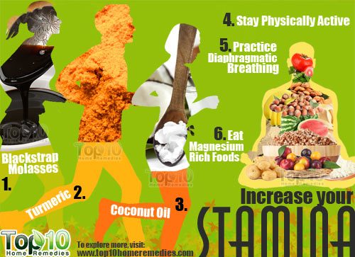 home remedies to increase stamina