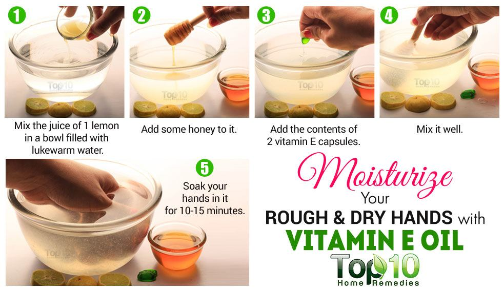 how to use vitamin e oil on your face