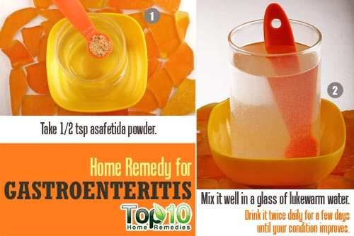 gastroenteritis home remedy