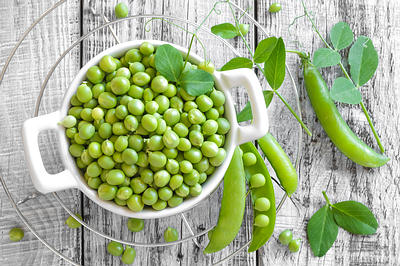 green peas for protein