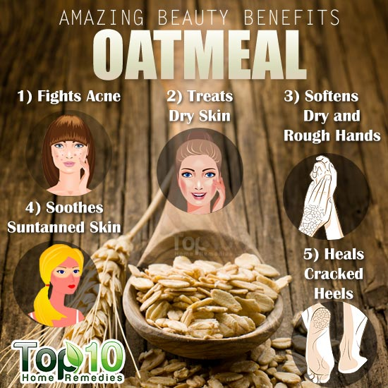 oatmeal beauty benefits