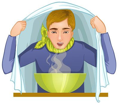 steam inhalation for congestion