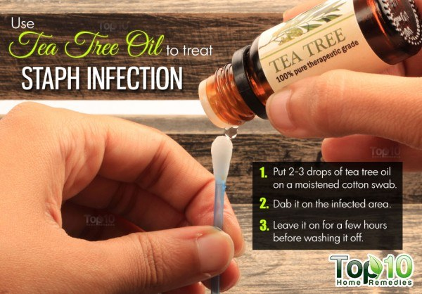 tea tree oil remedy for staph infection